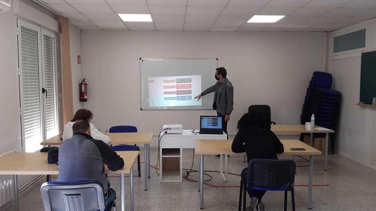 Aula de formación de la Mancomunidad de Servicios del Sureste de Madrid