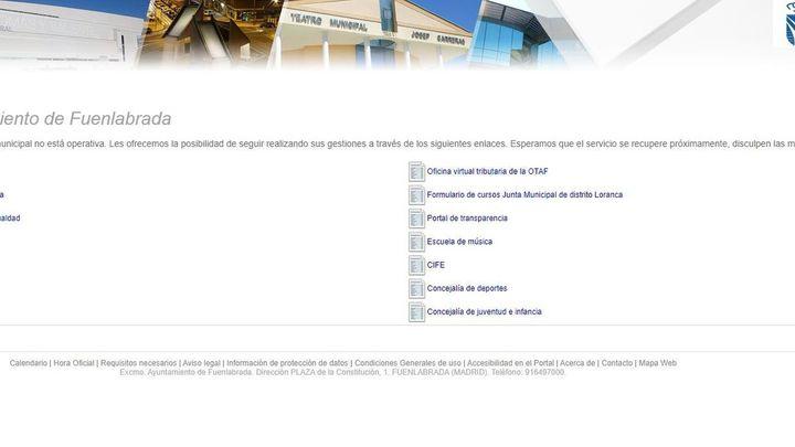 Ciberataque en el Ayuntamiento de Fuenlabrada