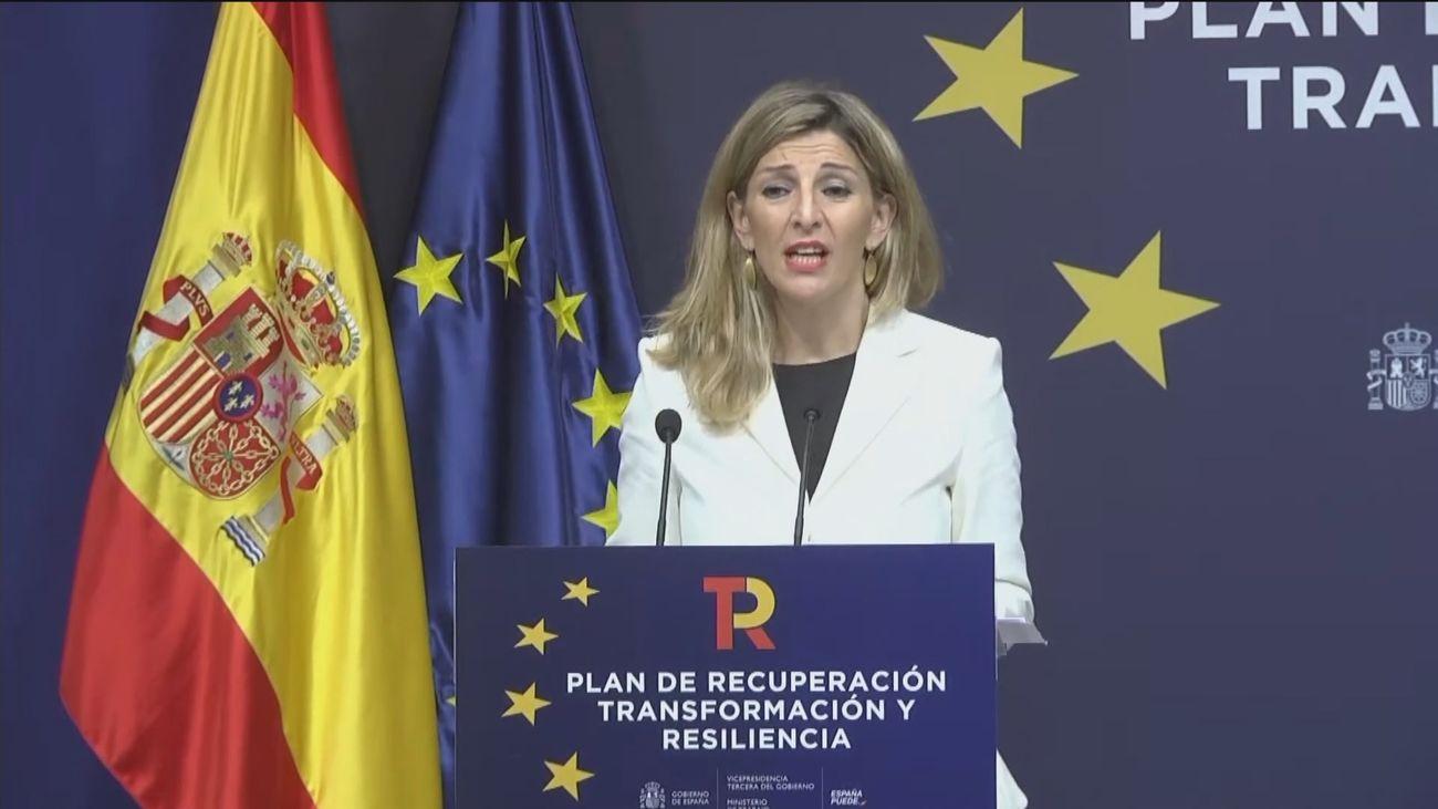 """Yolanda Díaz sostiene que """"la legislatura empieza ahora"""""""