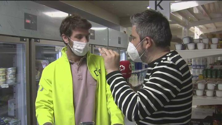 Llegan a Madrid  los 'supermercados fantasmas'