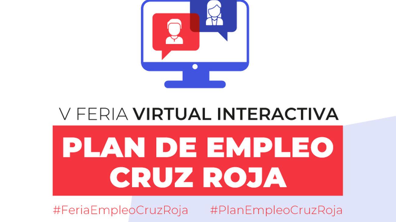 Más de 40 empresas participarán en la Feria de Empleo de Cruz Roja en Madrid el 26 de mayo