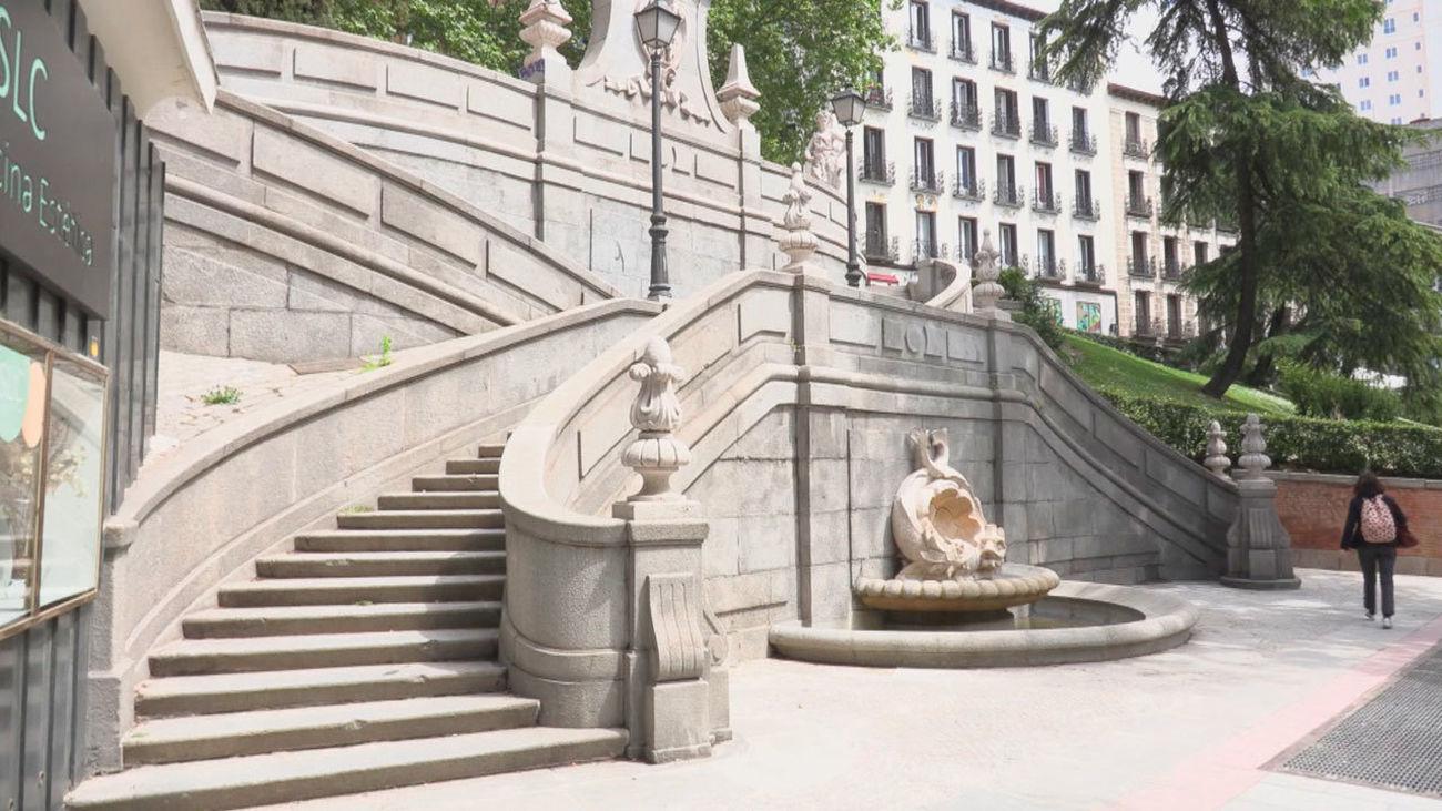 Algunas de las escaleras de Madrid con más historia