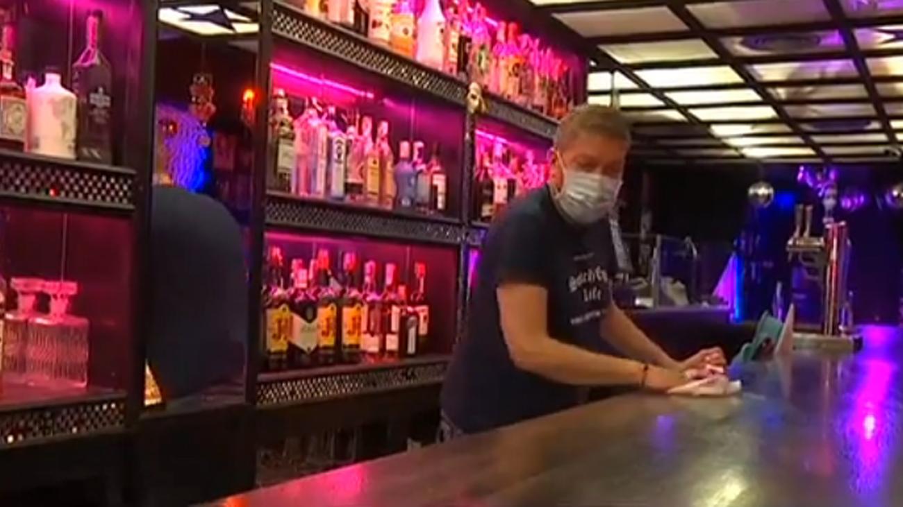 """Ensayo de una noche """"segura"""" en una zona de bares de copas"""