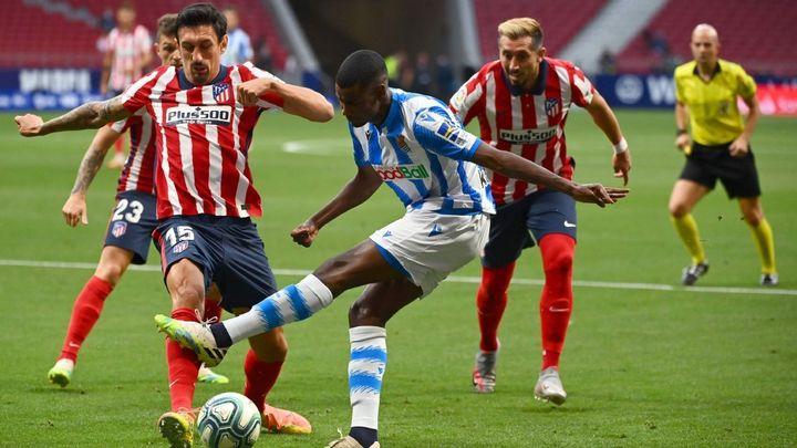 Atlético de Madrid-Real Sociedad, ataque final a LaLiga