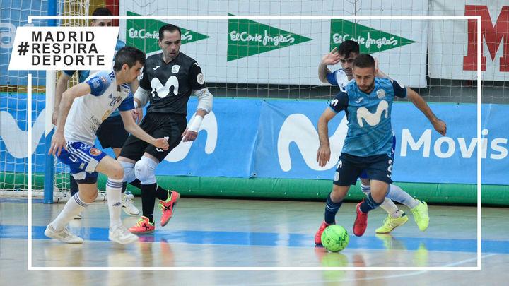 3-3. Empate insuficiente del Movistar Inter ante el Zaragoza
