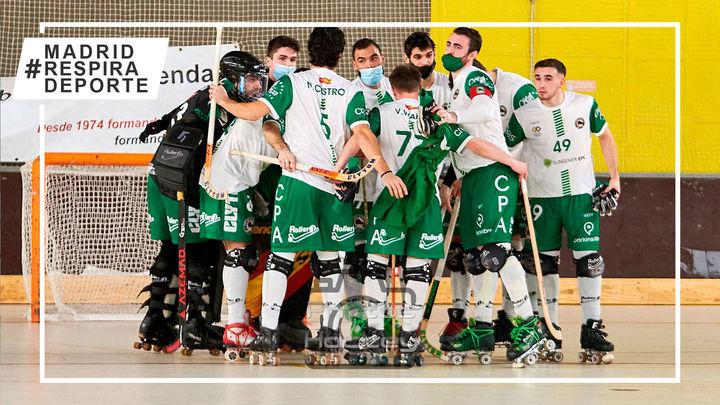 Patín Alcobendas luchará por el ascenso a la OK Liga de hockey patines