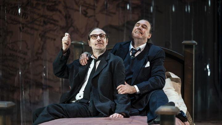 Llega al Teatro Fernán Gómez la conversación que nunca existió entre los hermanos Machado