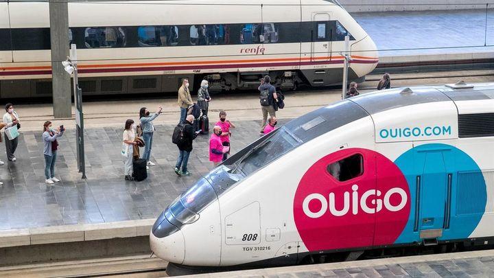 Ouigo sufre su primera avería y retrasa en 90  minutos la llegada de un tren de Barcelona a Madrid