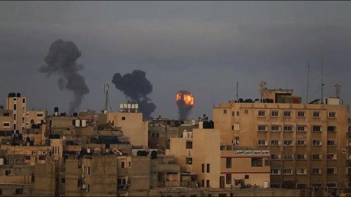 30 muertos  en la escalada de violencia entre Israel y Hamás en la franja de Gaza