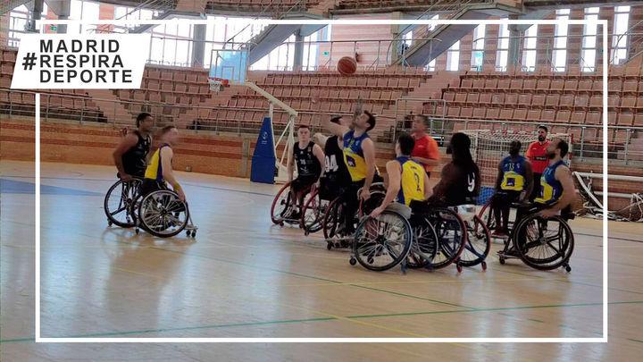 Jornada de derrotas de los tres equipos madrileños en la liga de baloncesto en silla de ruedas