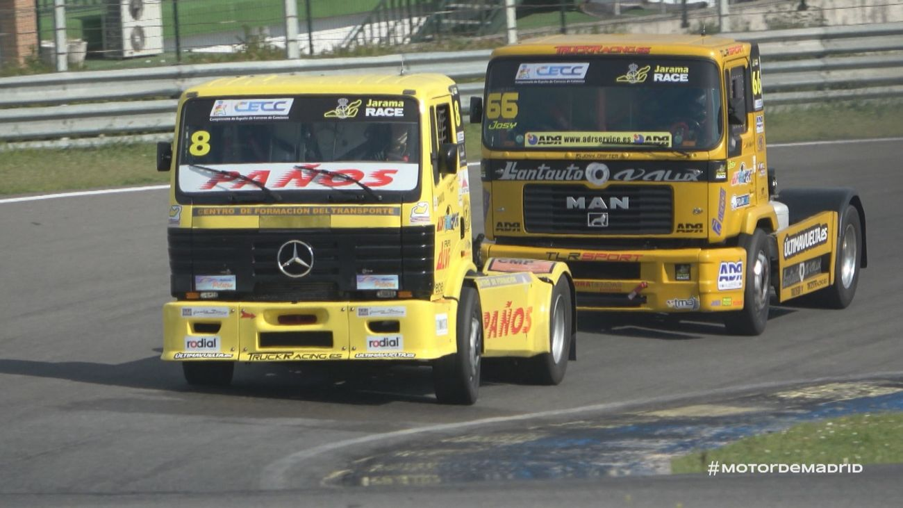 Carrera de camiones, gigantes de cinco toneladas