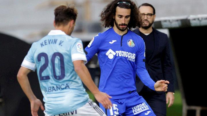 1-0. El Getafe se hunde en Vigo y se acerca al descenso