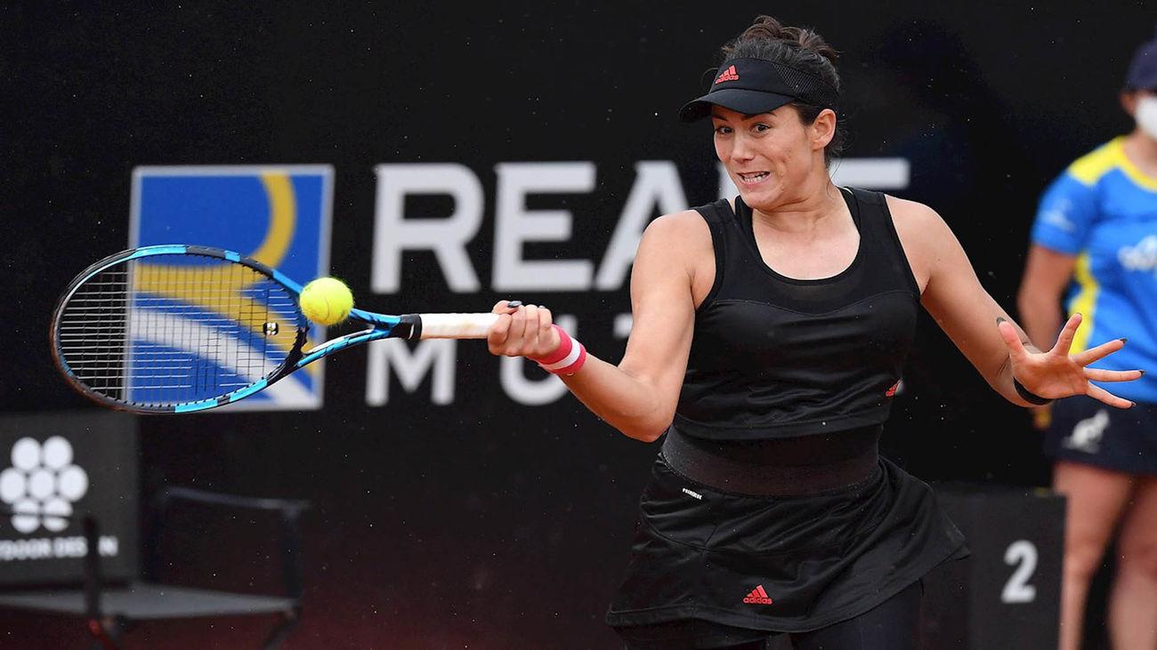 Muguruza remonta a Pera y se cita con Svitolina en la tercera ronda de Roma