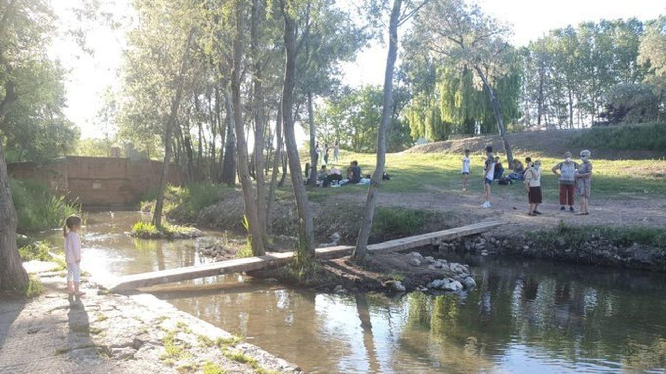 Río Tajo a su paso por Alcalá de Henares