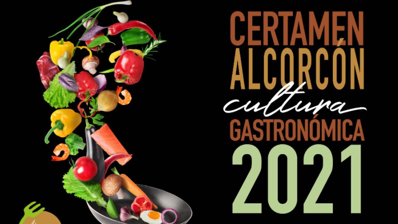 Cartel del certamen alcorconero de Gastronomía