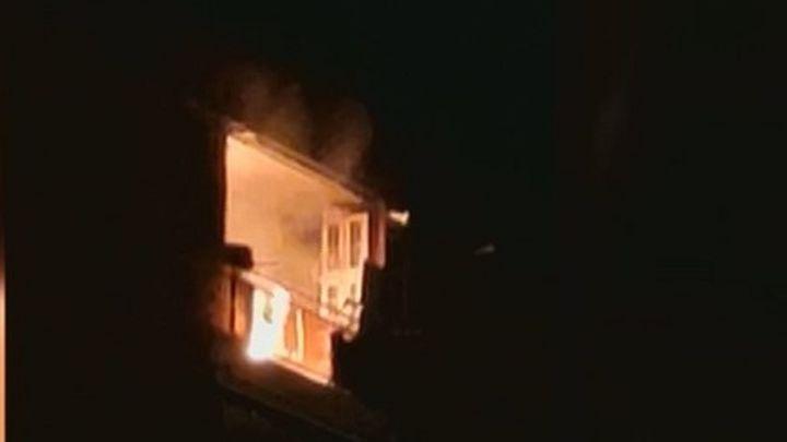 Incendio en una vivienda de Fuenlabrada al dejarse el fuego de la cocina encendido