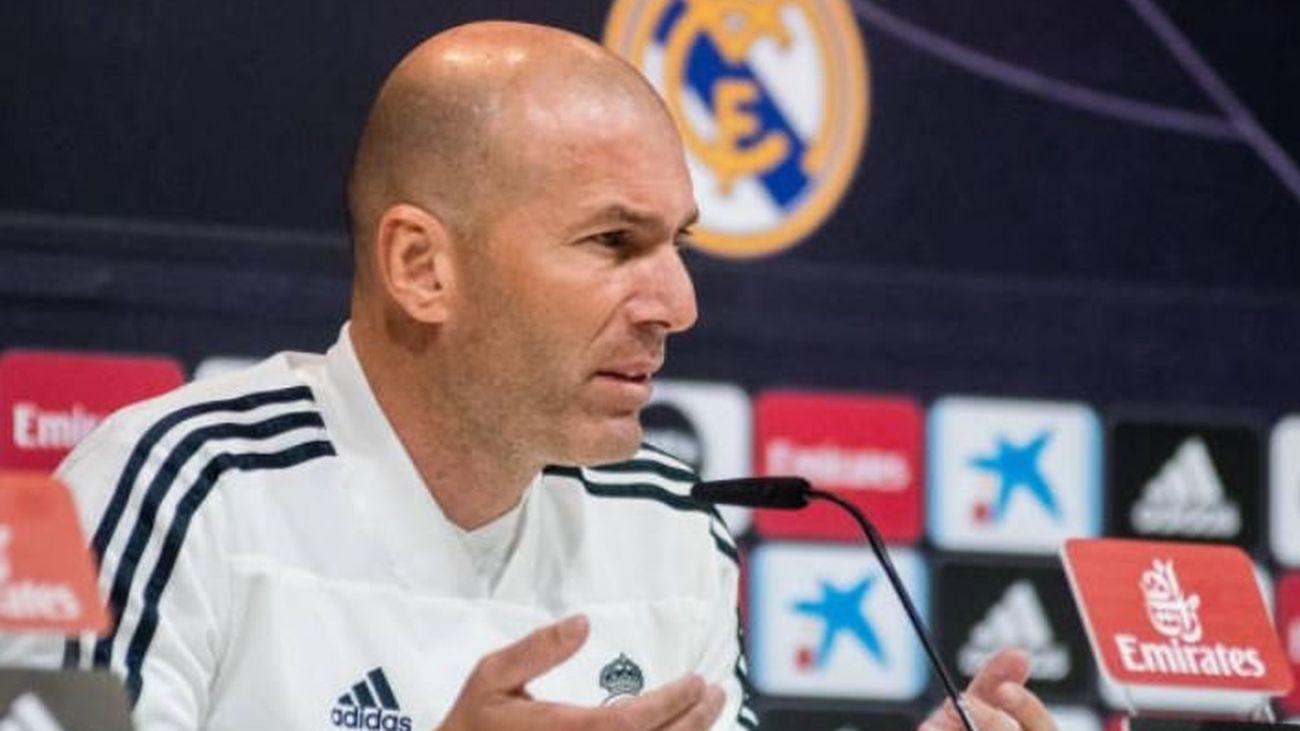 """Zidane: """"¿Árbitros? Si digo algo montamos un lío para nada"""""""