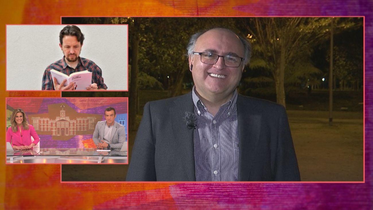 Un experto en comunicación no verbal predijo en 2020 el corte de pelo de Pablo Iglesias