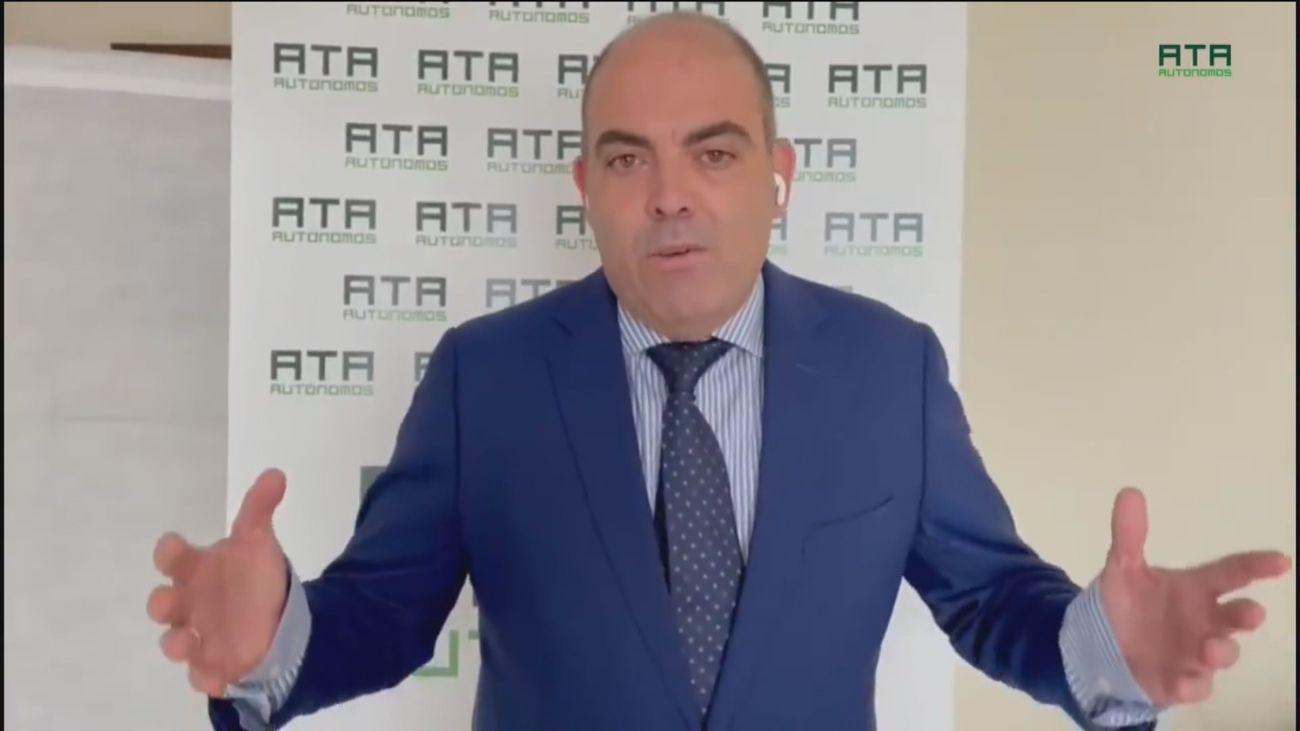 """ATA considera """"inaceptable"""" la cuota de autónomos  del Gobierno porque pone en riesgo su """"supervivencia"""""""
