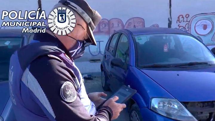 La Policía Municipal de Madrid retira 21 vehículos e interpone 114 multas en el Alto de San Isidro