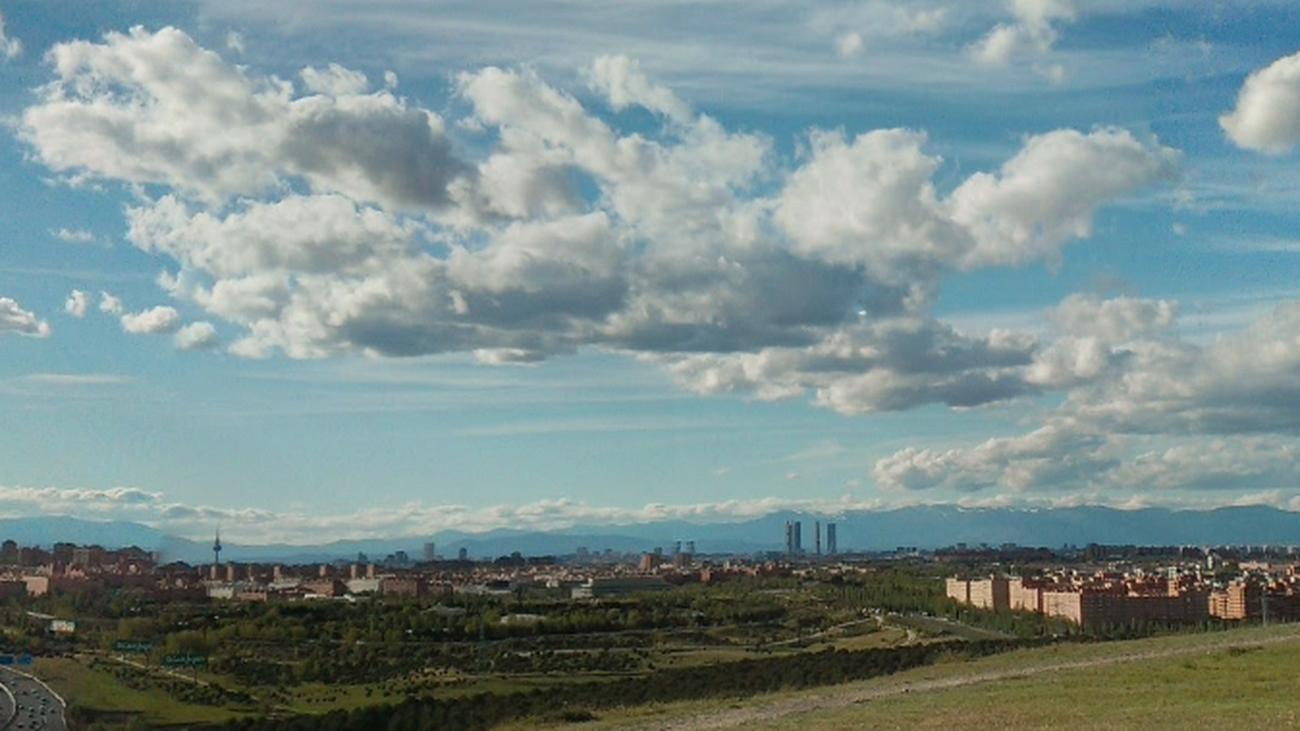 Vista hacia el norte de Madrid desde el Cerro Almodóvar