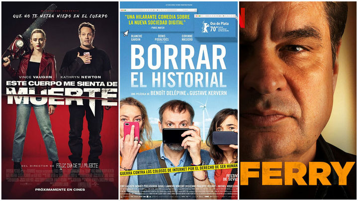 Estrenos de cine... contados de otra manera: Internet, cuerpos que cambian y narcos