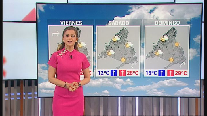 Máximas acercándose a los 30 grados a la sombra en Madrid este sábado y domingo