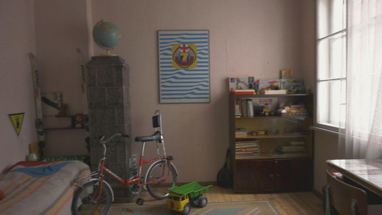 'El piso rojo', un museo que recrea un típico hogar búlgaro de los años 80