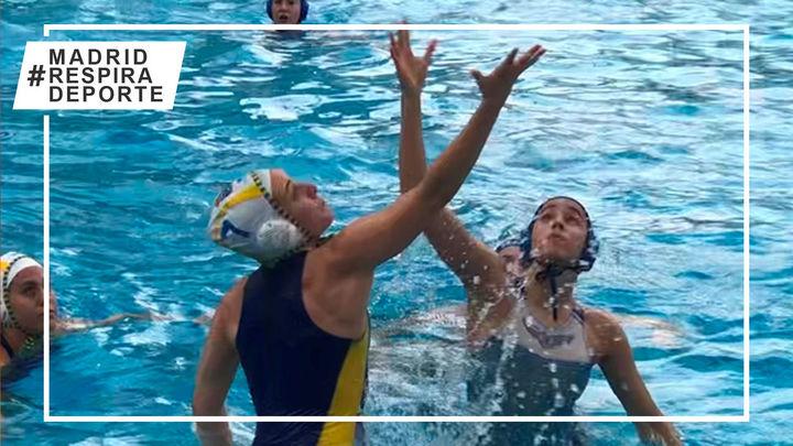 Real Canoe gana el derbi contra el Ciudad de Alcorcón en el último partido de liga de waterpolo