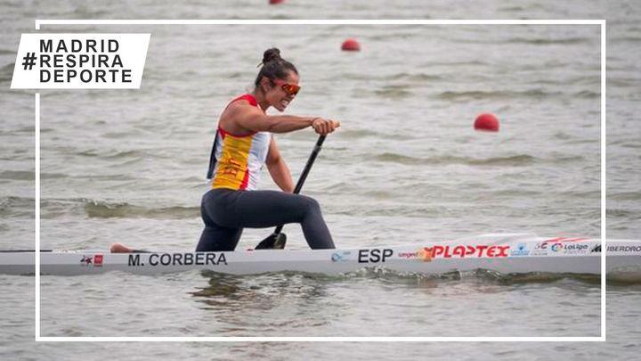 La madrileña María Corbera, oro en el Mundial de piragüismo