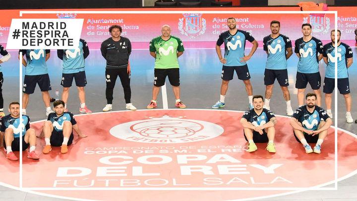 Movistar Inter, objetivo levantar la Copa del Rey