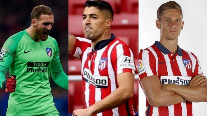 Oblak, Luis Suárez y Marcos Llorente, los pilares del campeón