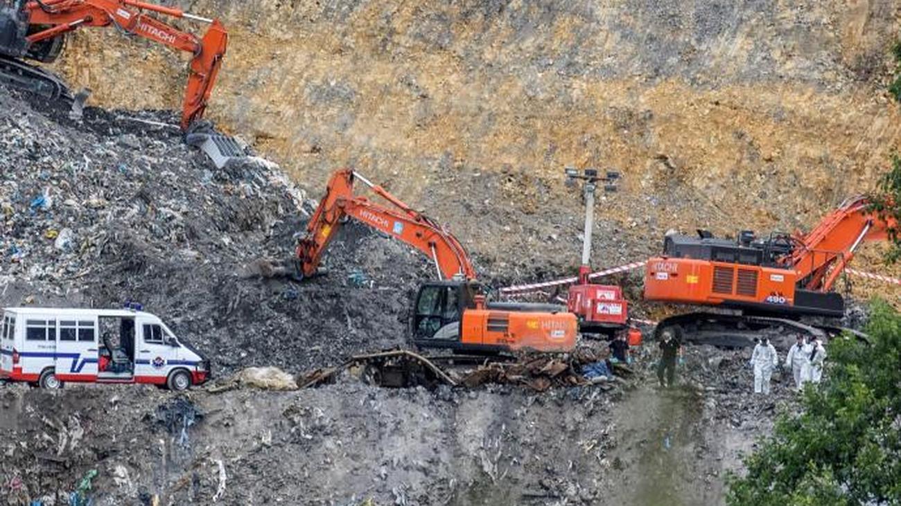 El operativo de búsqueda de Joaquín Beltrán concluye sin éxito tras el rastreo de 450.000 m3 de tierra en Zaldibar