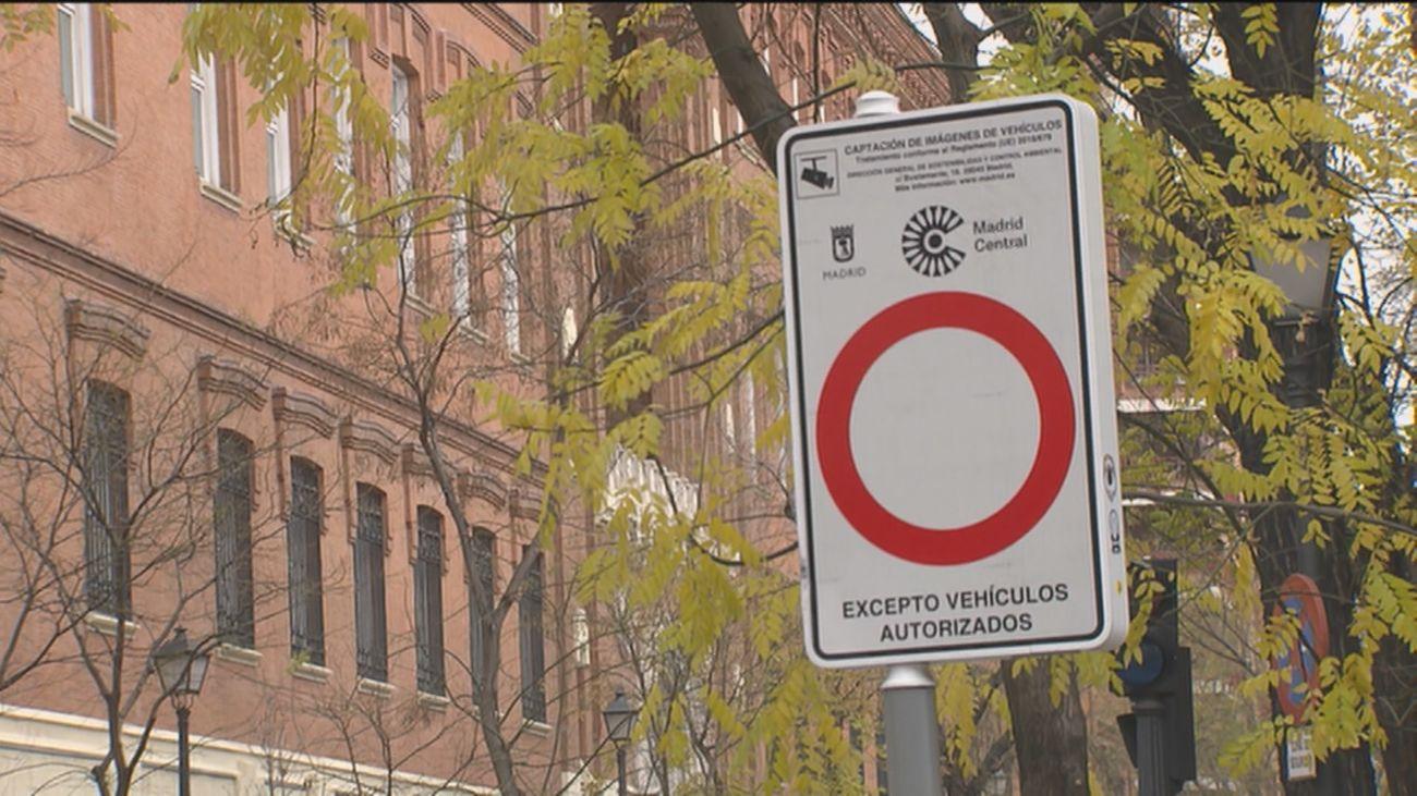 """Las multas de Madrid Central se paralizan """"provisionalmente"""" pero las cámaras seguirán grabando"""