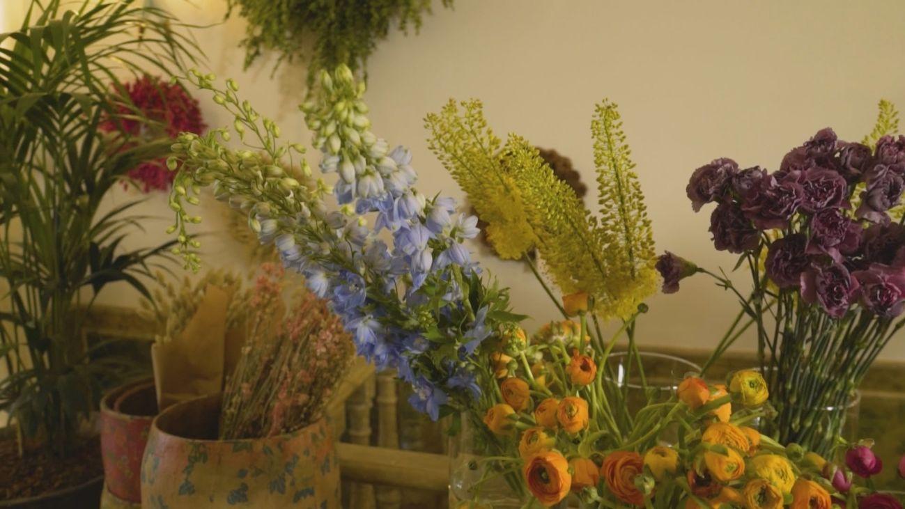 Flores, moda y diseño se juntan en Loreto Aycuens