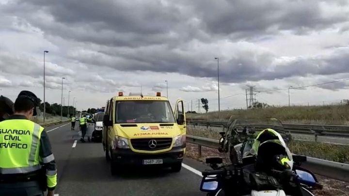 Muere un motorista de 54 años tras salir de la carretera M-607 en Tres Cantos
