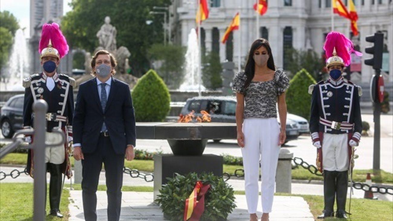 Villacís y Almeida rinden tributo en este San Isidro a todos los fallecidos por la pandemia