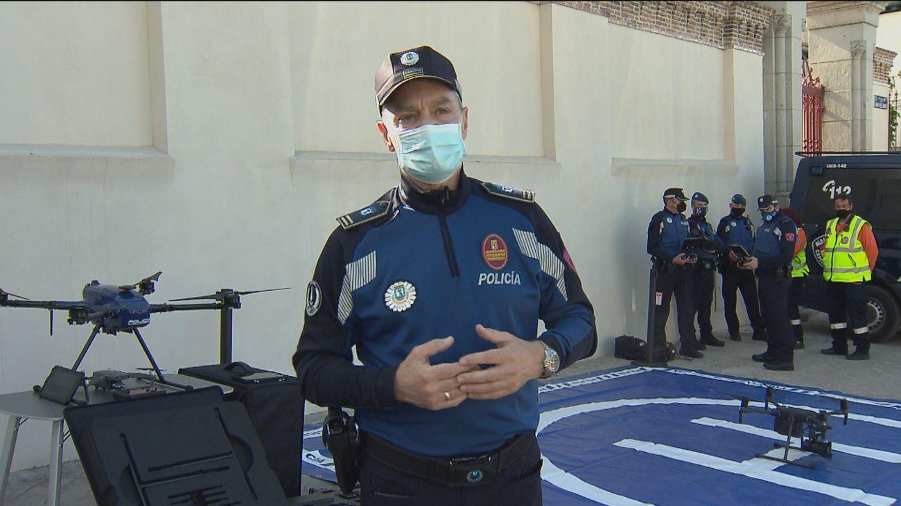 Amplio operativo policial en la pradera para evitar posibles botellones