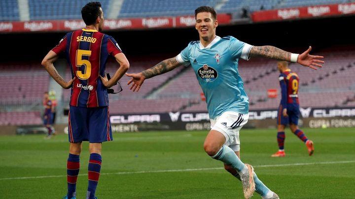 1-2. El Barcelona cae contra el Celta y se despide de la Liga