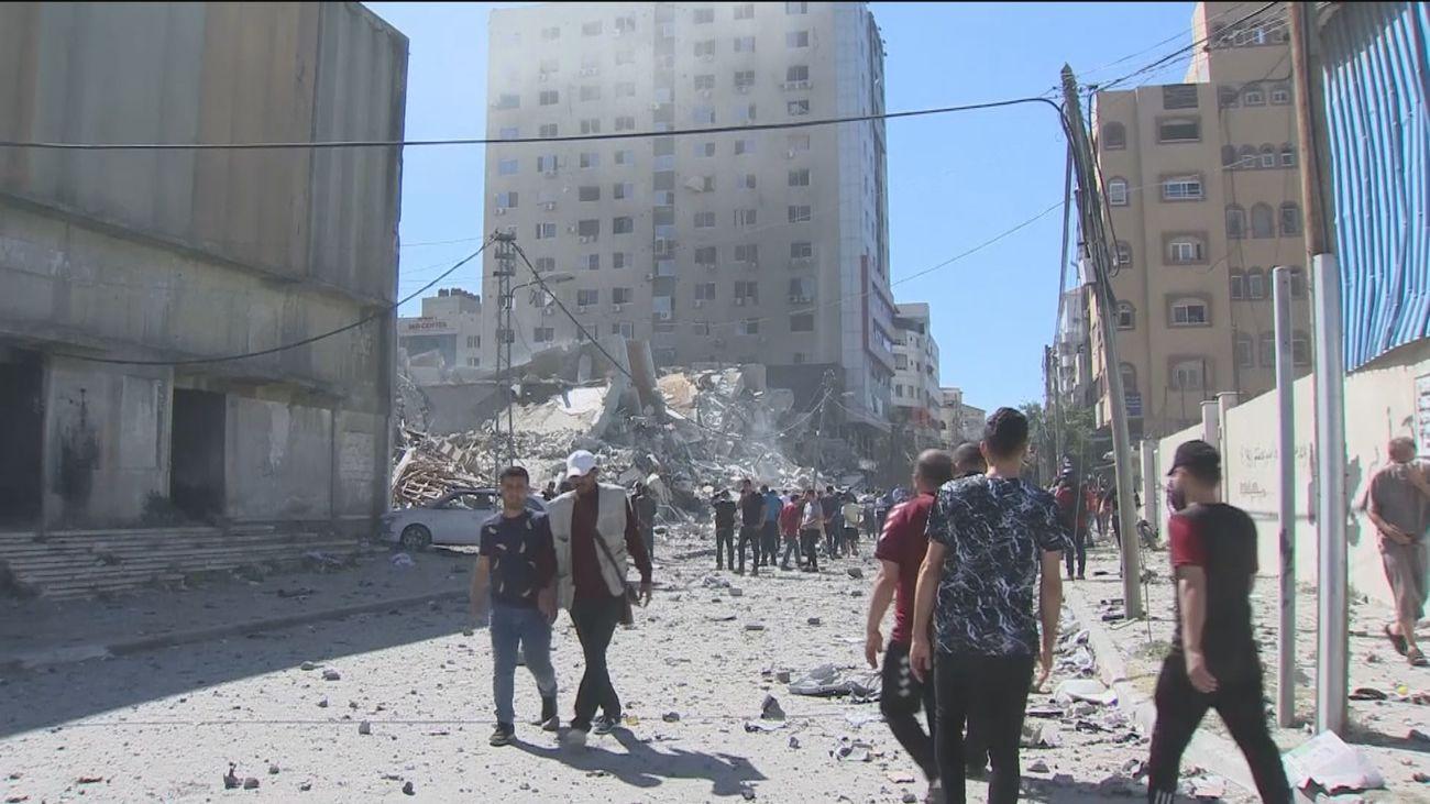 Aumentan los muertos en Gaza mientras continúan los bombardeos de Hamás contra el centro y sur de Israel