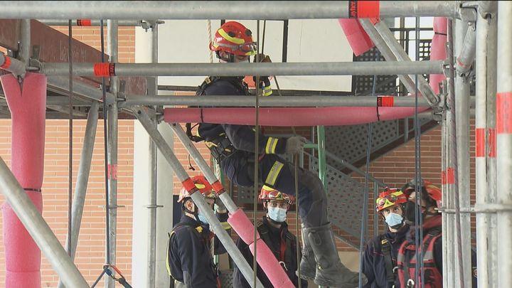 Así se forman los nuevos bomberos de la Comunidad de Madrid