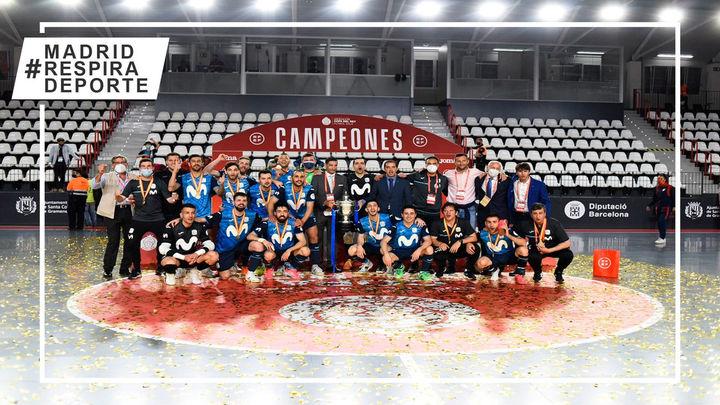 5-3. Movistar Inter,  campeón de la Copa del Rey