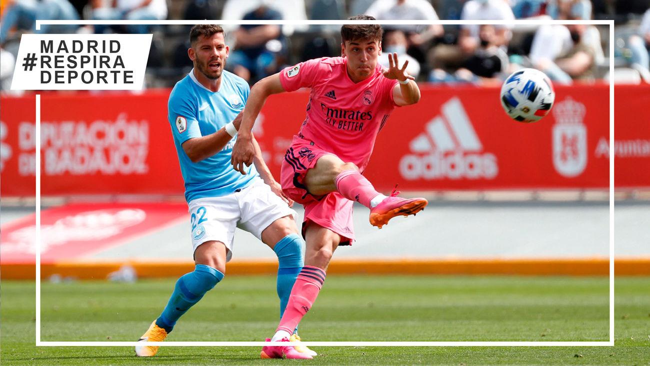 El Castilla, apeado de la carrera por el ascenso