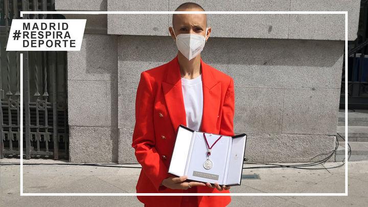 Virginia Torrecilla, emotiva Medalla de Honor de Plata de Madrid