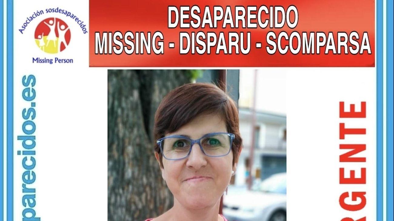 Aviso de SOS Desaparecidos