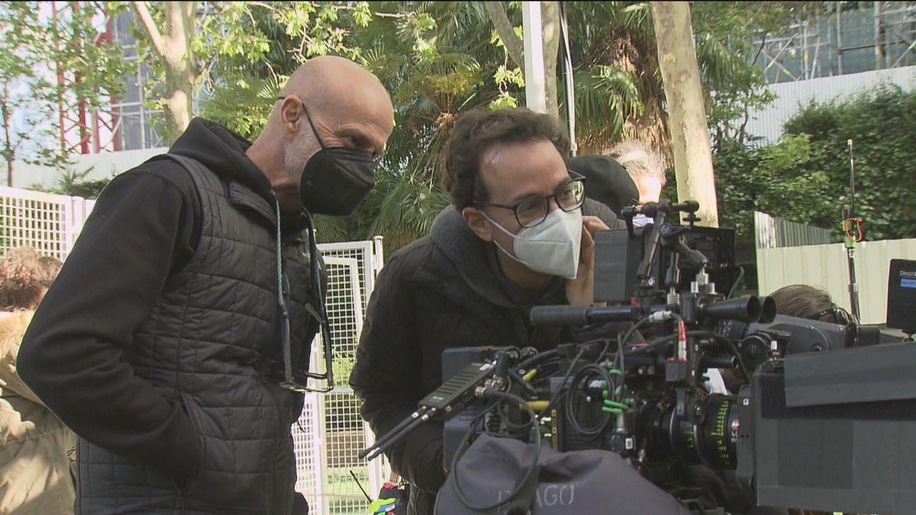 El rodaje de 'Josefina', la primera película de Javier Marco, cuenta con la colaboración de Telemadrid