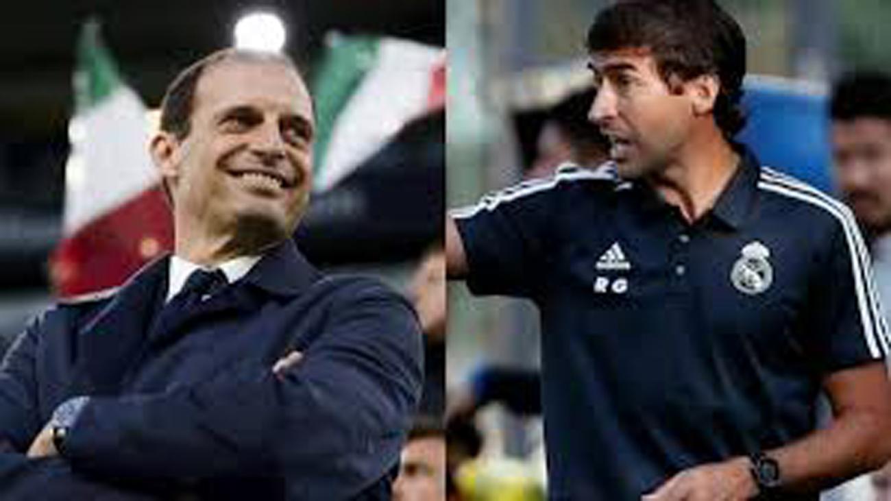 Allegri y Raúl, candidatos al banquillo del Real Madrid