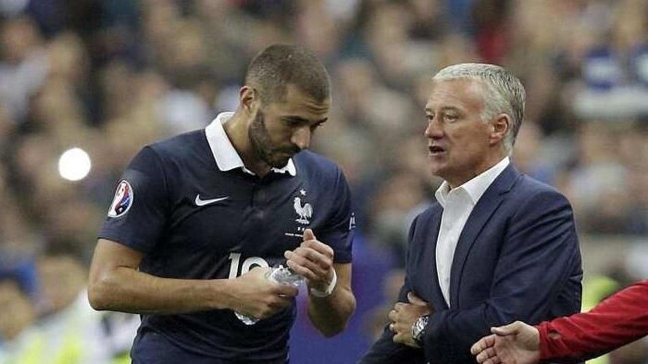 Benzema regresa a la selección francesa cinco años y medio después