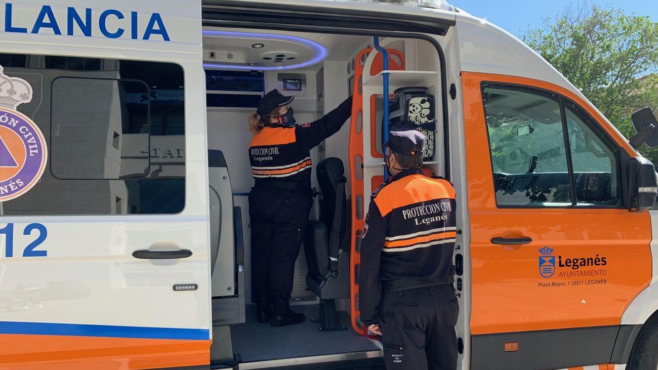 Leganés y Pozuelo de Alarcón dotan de nuevas ambulancias a sus servicios de emergencia