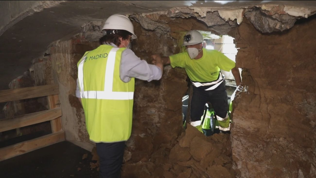 El túnel entre Bailén y Ferraz estará concluido antes de que acabe el año